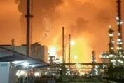 Kilang Minyak PT Pertamina RU VI Balongan Indramayu Terbakar