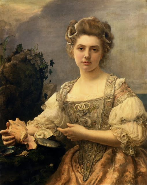 Gustave Jean Jacquet - Treasures of the Sea