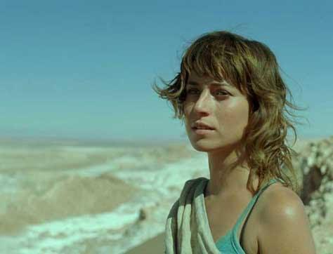 Marta Etura, en la playa