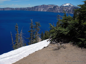 Photo: Crater lake