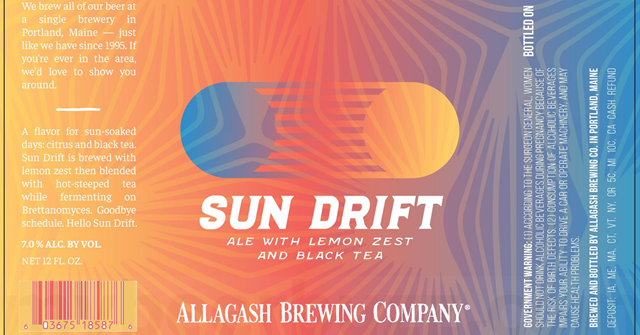 Image result for ALLAGASH SUN DRIFT