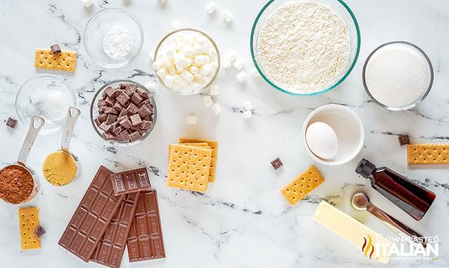 smores cookie recipe ingredients