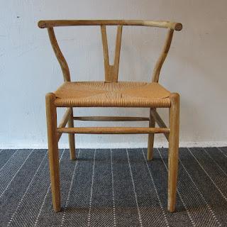 Oak Rush Bottom Arm Chair