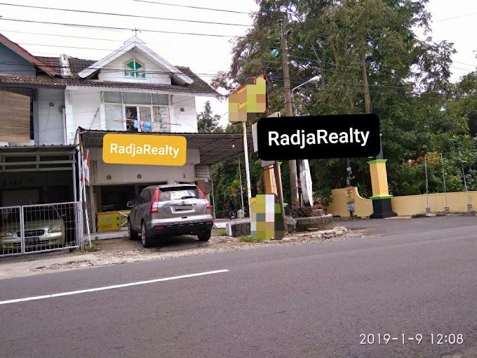 Ruko Ruang Usaha Murah strategis 2 Lantai Pinggir Jalan Utama Purwomartani Sleman