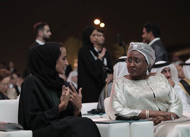 Aisha Buhari at the official opening ceremony of Sidra