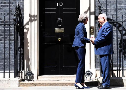 """ראש הממשלה בנימין נתניהו נפגש עם ראשת ממשלת בריטניה תרזה מייבדאונינג 10צילום: חיים צח / לע""""מPhotos By : Haim Zach / GPO"""
