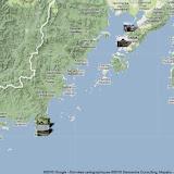 Localisation des photos : la péninsule de Gamova au sud-ouest de Vladivostok