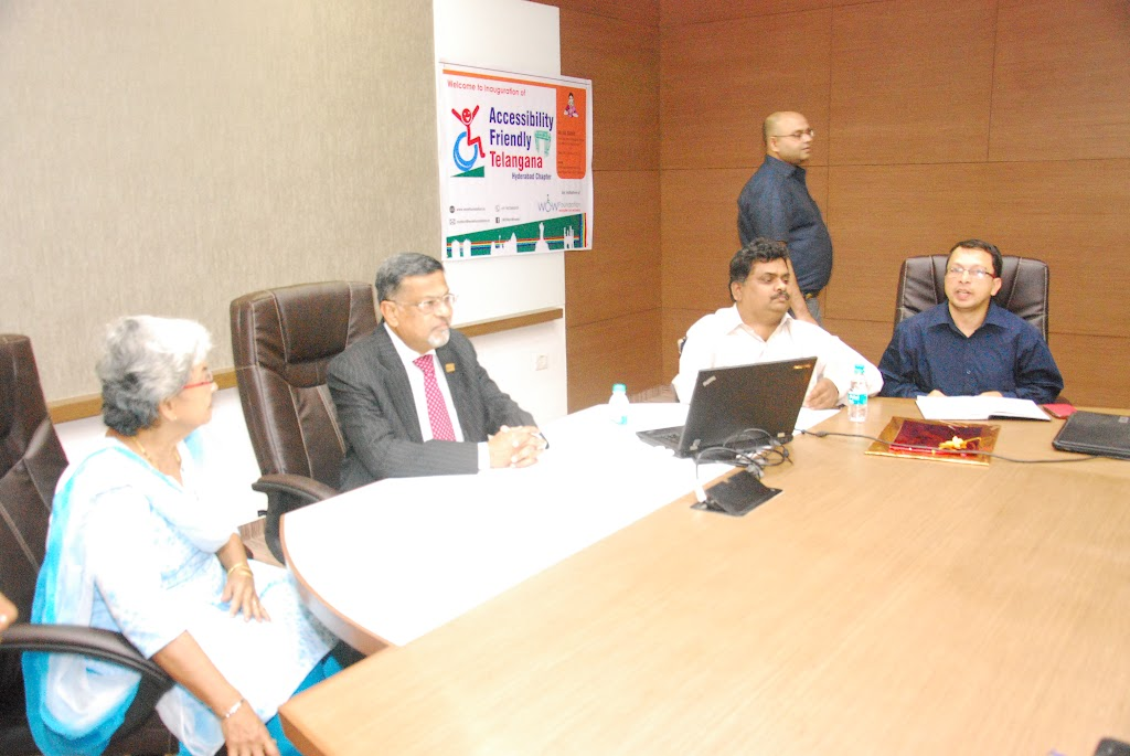 Launching of Accessibility Friendly Telangana, Hyderabad Chapter - DSC_1189.JPG