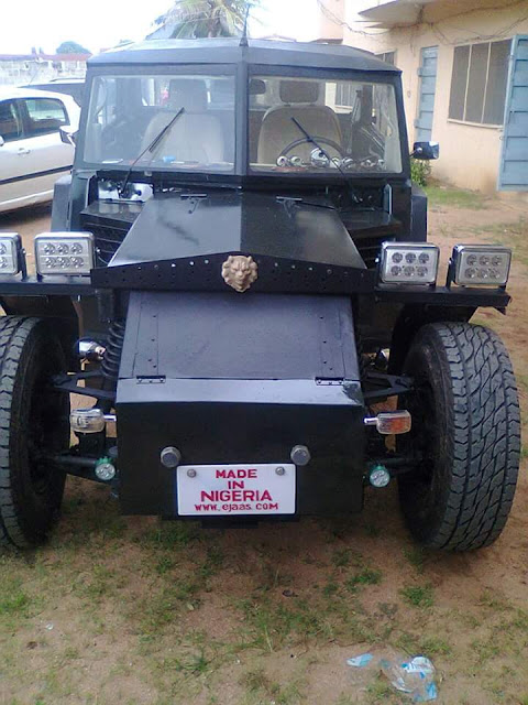 Would You Drive This Car Developed By A Nigerian Start-up 1