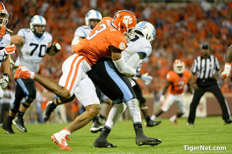 UNC at Clemson Photos -