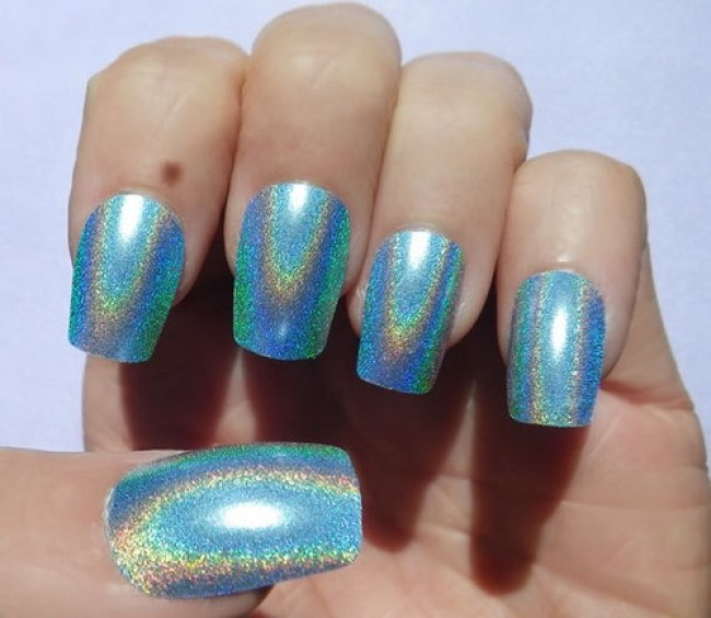 STYLISH HOLOGRAM NAIL ART DESIGNS TRENDS FOR 2017 - Styles Art