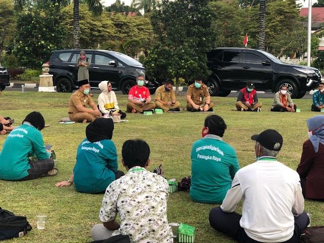 Gubernur Kalteng Tatap Muka dengan Relawan Sosial dan RT
