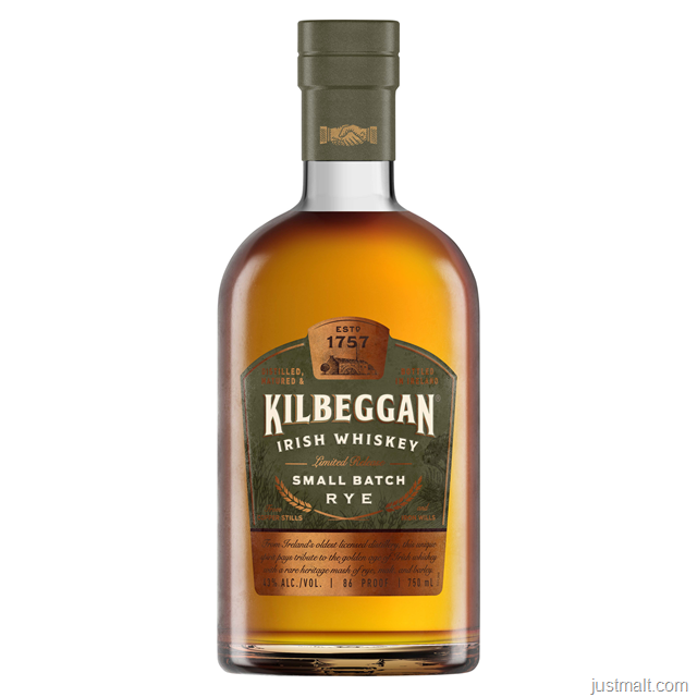 Kilbeggan Distilling Company Introduces A New Style Of Irish Whiskey Dating Nearly 100 Years In Kilbeggan® Small Batch Rye