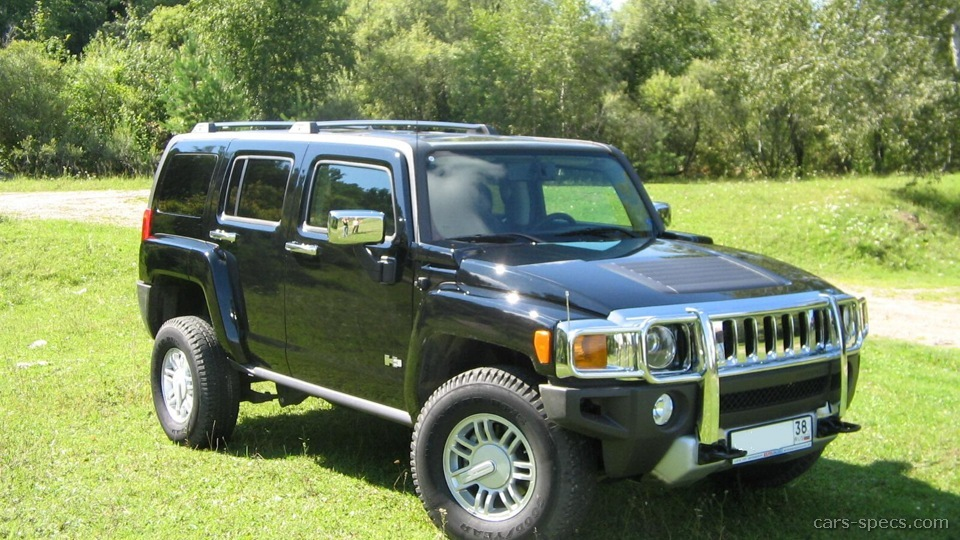2008 hummer h3 suv specifications pictures prices. Black Bedroom Furniture Sets. Home Design Ideas