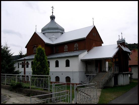 cerkiew opieki Matki Bożej w Komańczy