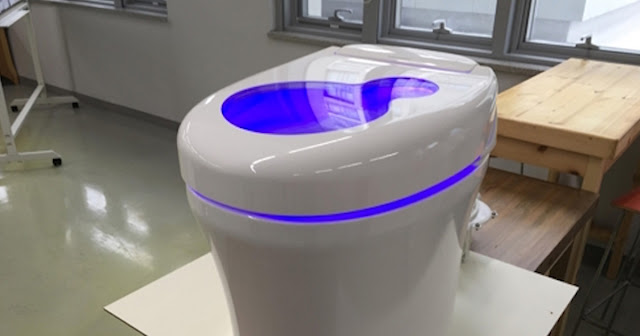 toilet that turns human feces into cryptocurrency