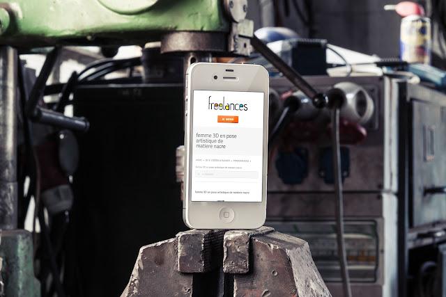 conception site web adaptatif capture écran ordinateur tablette mobile sublimer présentation responsive web design notebook pro retina tablet air phone 4s site industriel // paris +33 6 8528 9977