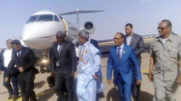 Le président de la Commission de l'UA effectue une visite aux camps de réfugiés sahraouis