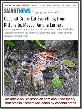 Amelia Earhart eaten by coconut crabs wm