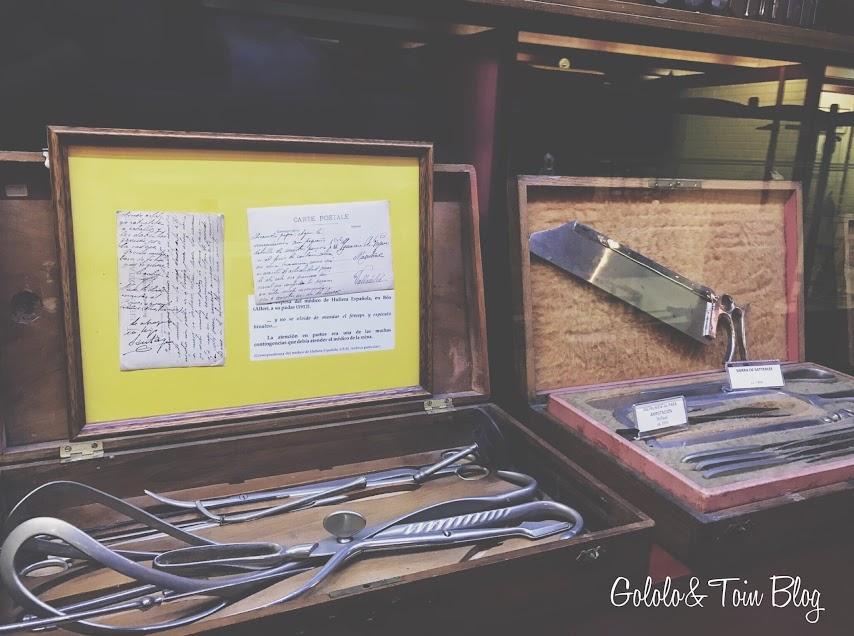 Utensilios antiguos de medicina