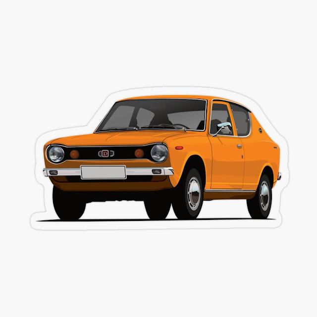 Datsun 100A tarrat