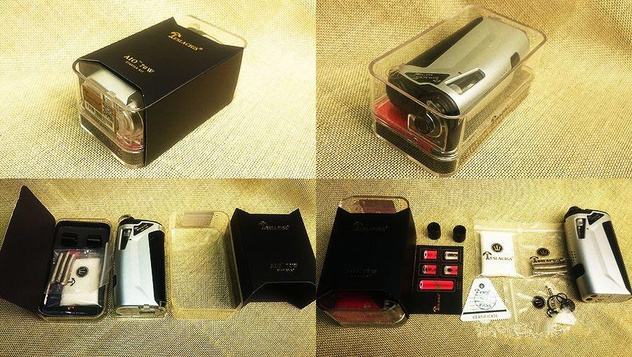Teslacigs AIO 70W Starter Kit Review 13