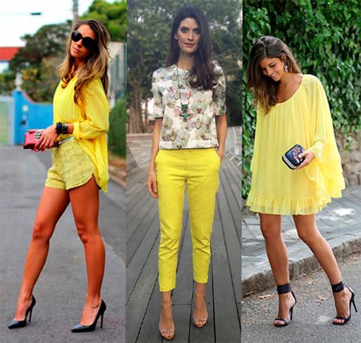Looks amarelo
