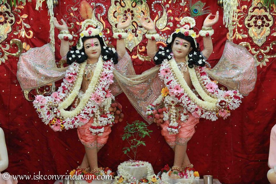 ISKCON Vrindavan Shringar Deity Darshan 29 May  2016 (11)
