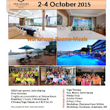 Luxury Retreat at The Senses, Phuket. The 5 star resort is nestled at the tranquil oasis in Phuket. The calm and natural surrounding soothes your nerves and let you escape from the fast pace of city life.  Learn, Rejuvenate, Relax and Recharge in our Life Coaching and Wellness Retreat. 2-4 October 2015.  For booking, please email enquiry@etiquetteimageint.comWatch the Video:https://youtu.be/d6oH__hoTws