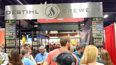 Destihl Brewery booth at GABF 2015