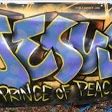 Graffitis sobre el nombre y figura de Jesús