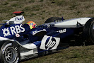 Williams FW27 shake down