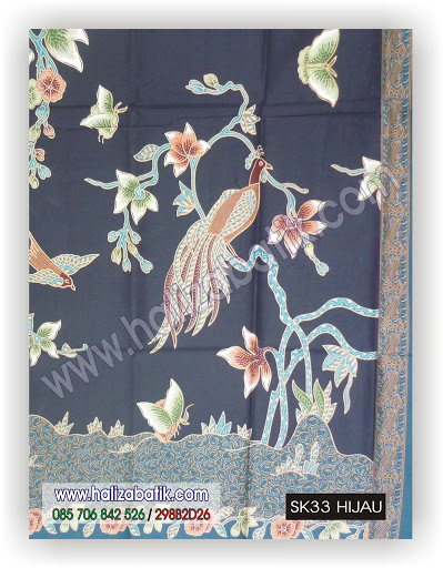 Baju Batik Online, Jual Baju Murah, Jual Baju Batik, SK33 HIJAU