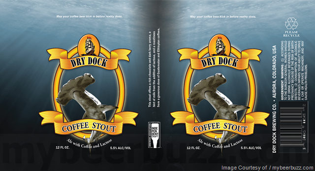 Dry Dock brewing Coffee Stout  Cans