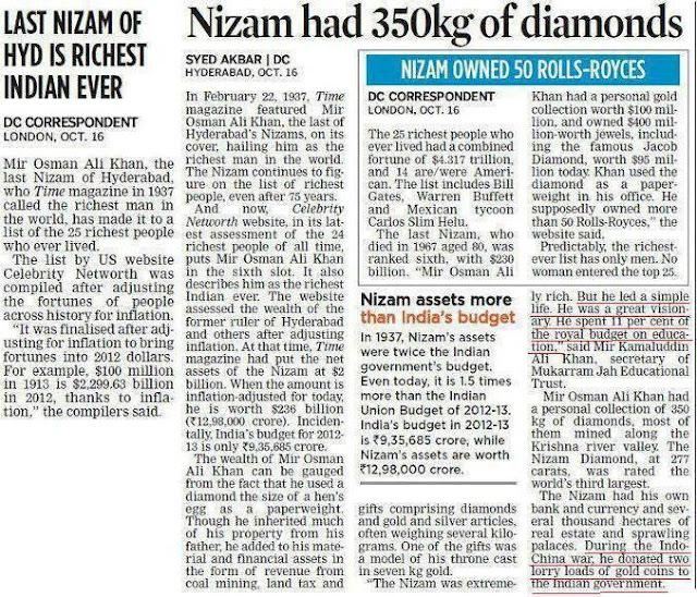 Hyderabad - Rare Pictures - Nizams%2BDiamonds.jpg