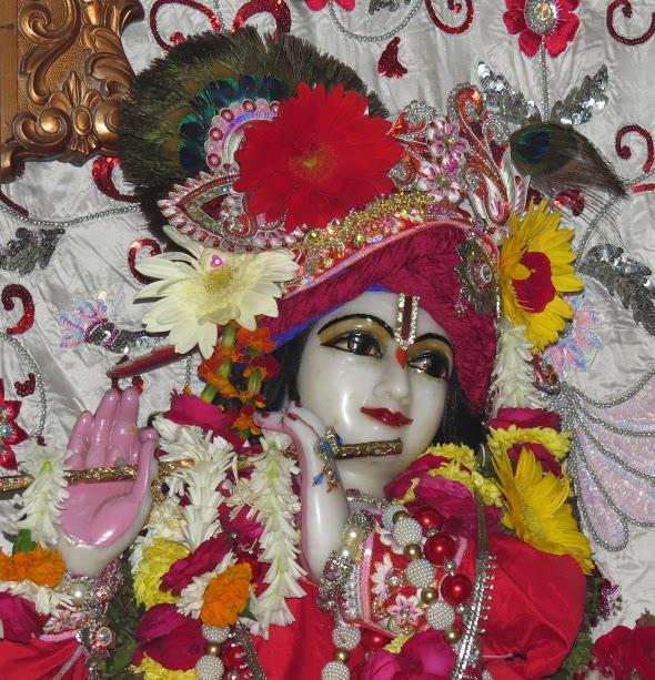ISKCON Vallabh vidhyanagar Deity Darshan 09 jan 2017 (8)