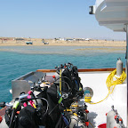 In de haven van Marsa Alam