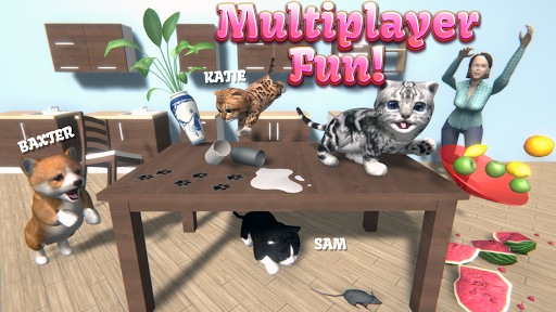 Cat Simulator - and friends 🐾 apklade screenshots 1