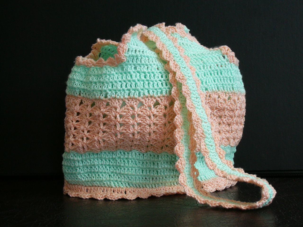beaded wrist bag crochet 2007 vintage wrist bag crochet vintage design ...