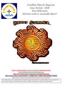 Cover of Correllian Times Emagazine's Book Issue 46 June 2010 Happy Summer