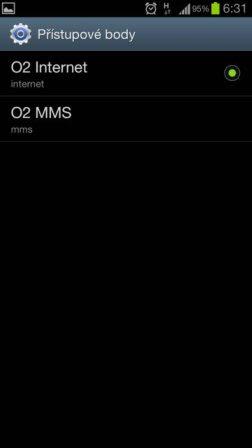 bfdeb06f8f48 MMS nefungují - Android Fórum - pro chytré mobilní telefony a tablety