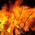 घराला आग लागून एकाच होरपळून मृत्यू.