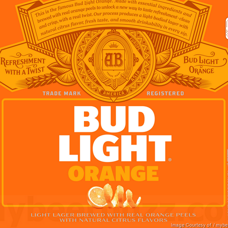 Anheuser-Busch Adding New Bud Light Orange & Updating Bud Light Lime