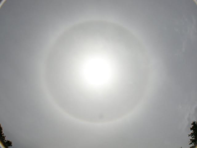 Sun Halo - similar to a sun dog