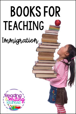 Books to use for teaching immigration