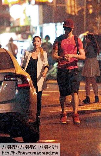 拍拖唔係秘密, Jolin而家同錦榮出街,連口罩都懶得戴。