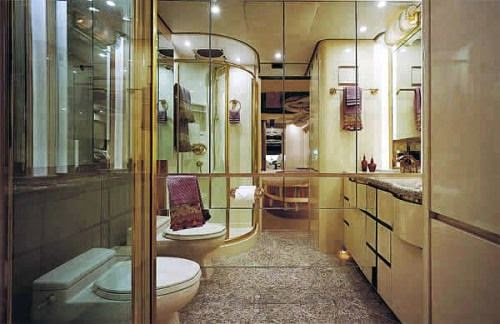 The five star loo on the world most expensive vehicle