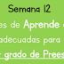 cuadernillo de trabajo para prescolar de 1° 2° y 3° semana 12