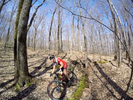 Ben Olson on Twin Lakes singletrack
