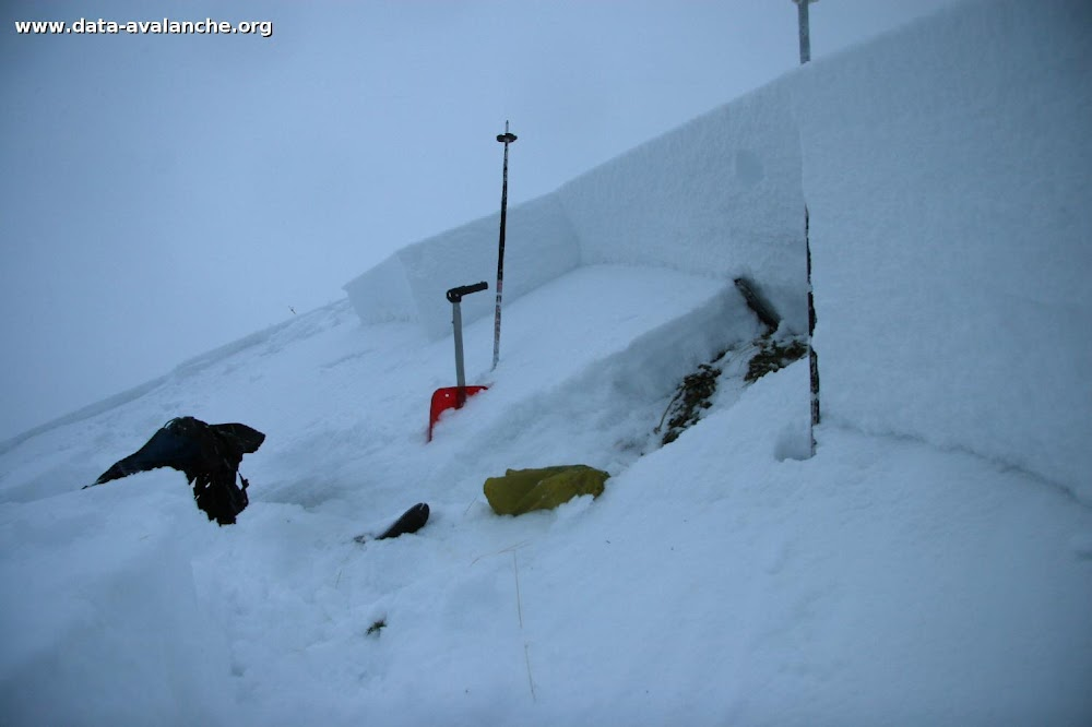 Avalanche Ubaye, secteur Vars - Photo 1